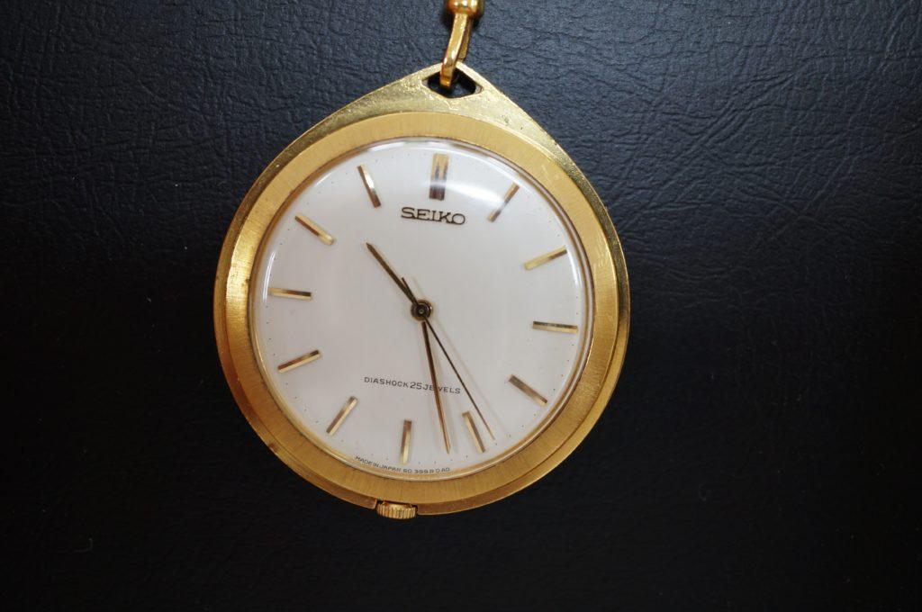 No.1663  SEIKO (セイコー) 手巻き式 懐中時計を修理しました