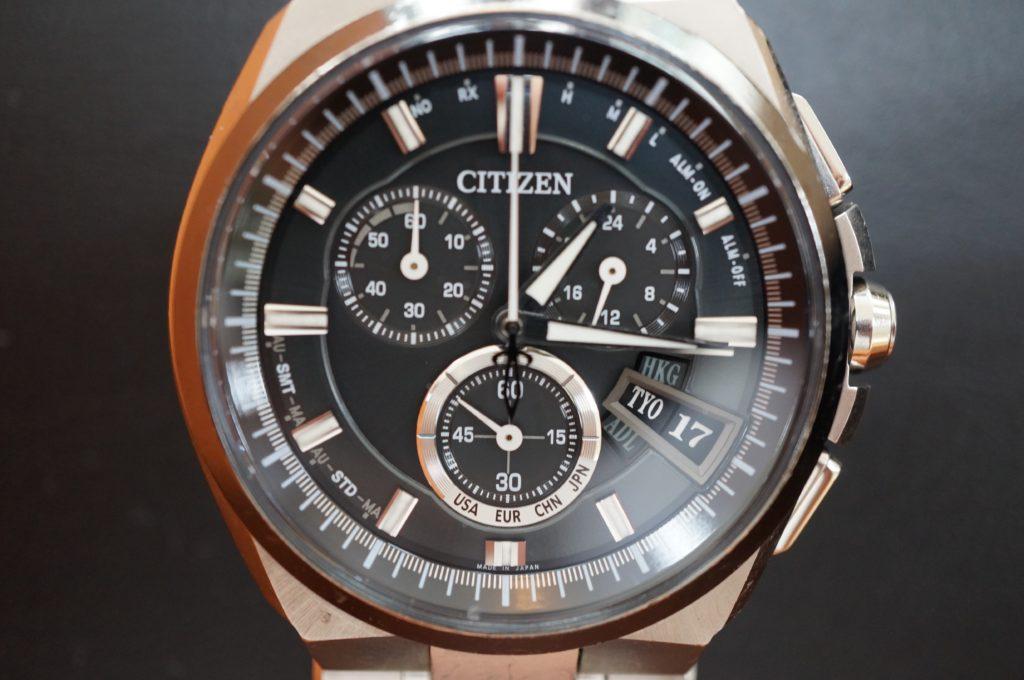 No.1680  CITIZEN(シチズン)ソーラー式 腕時計を修理しました
