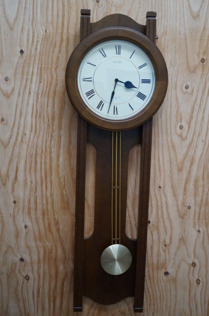 No.1700  SEIKO  (セイコー ) クォーツ式  掛け時計を修理しました