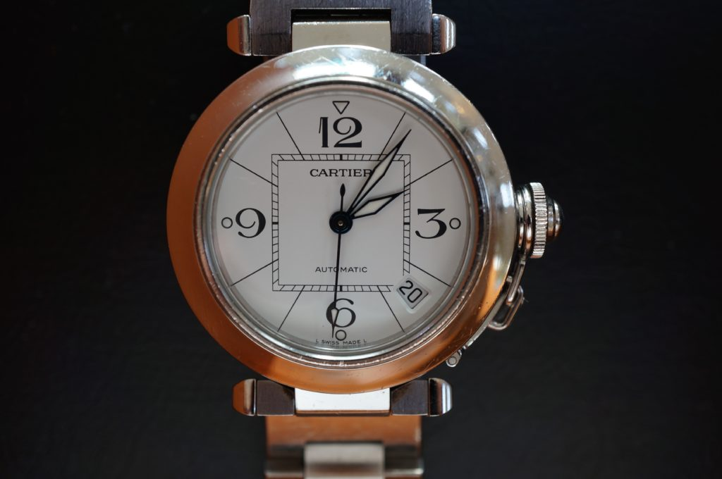 No.1668  CARTER (カルティエ ) 自動巻き腕時計を修理しました
