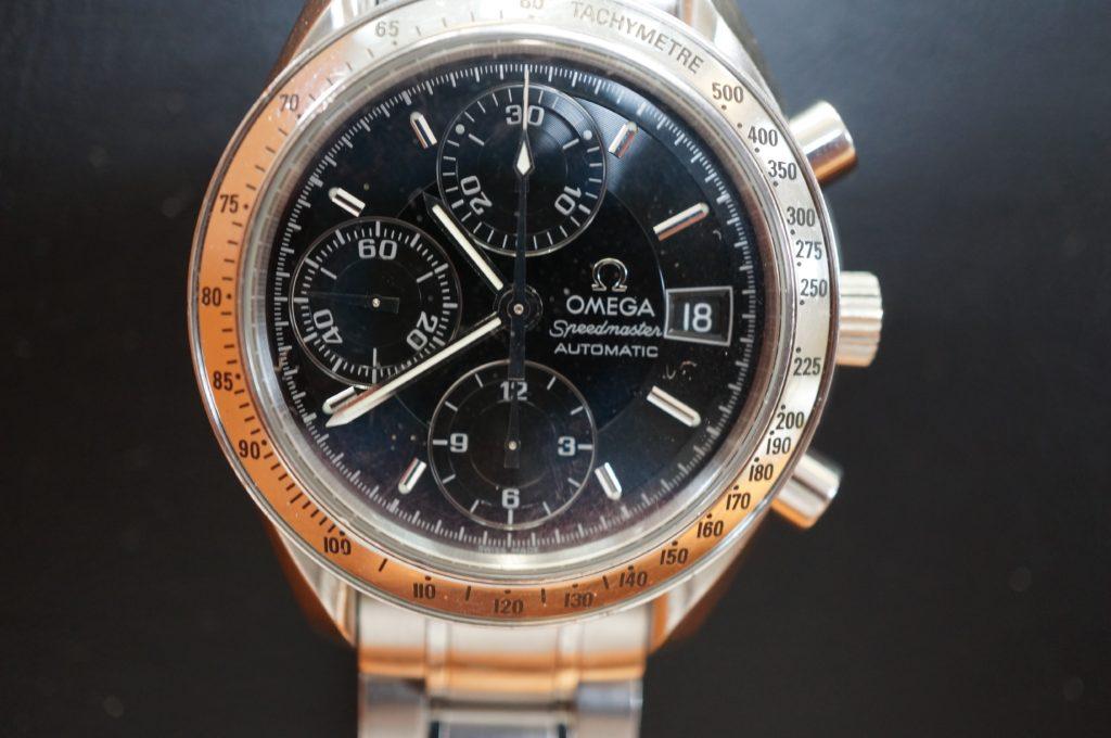 No.1681  OMEGA Speedmaster (オメガスピードマスター) 自動巻き 腕時計を修理しました