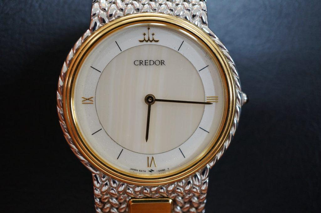 No.1682  SEIKO CREDOR (セイコー・クレドール ) クォーツ式腕時計を修理しました