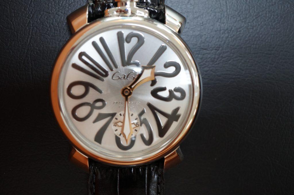 No.1689  GaGA MIRANO (ガガミラノ) 手巻き式腕時計を修理しました