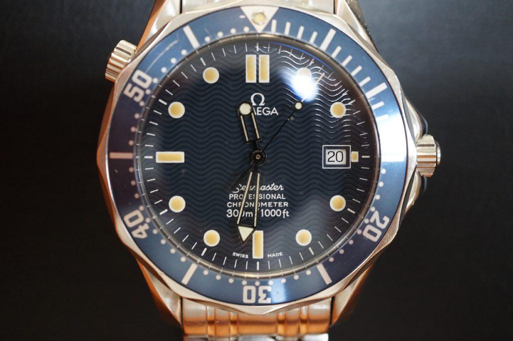 No.1670  OMEGA Seamaster (オメガ シーマスター) 自動巻き腕時計を修理しました