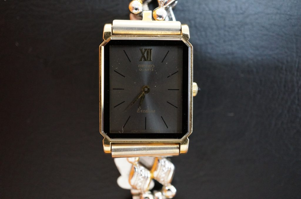No.1683  SEIKO  (セイコー ) クォーツ式腕時計を修理しました