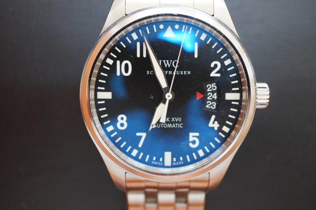 No.1708  IWC  (インターナショナル・ウォッチ・カンパニー) 自動巻き時計を修理しました