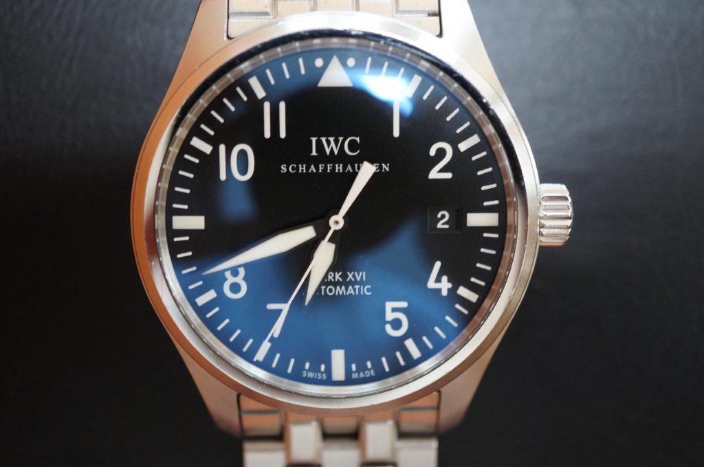No.1727  IWC  (インターナショナル・ウォッチ・カンパニー) 自動巻き時計を修理しました