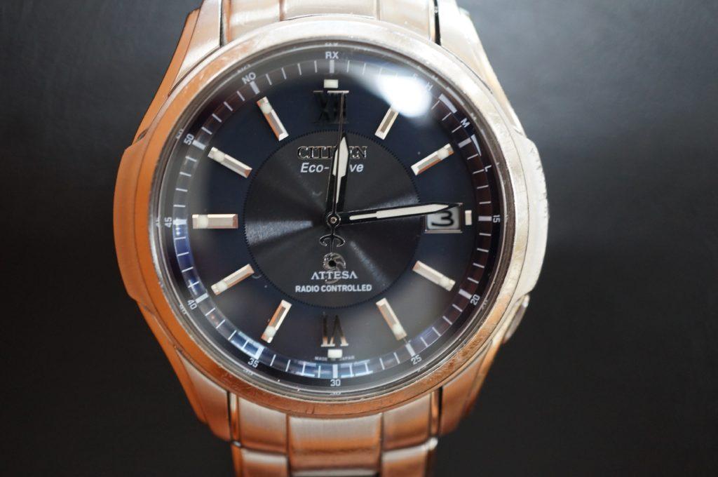 No.1723  CITIZEN(シチズン)ソーラー電波式 腕時計を修理しました