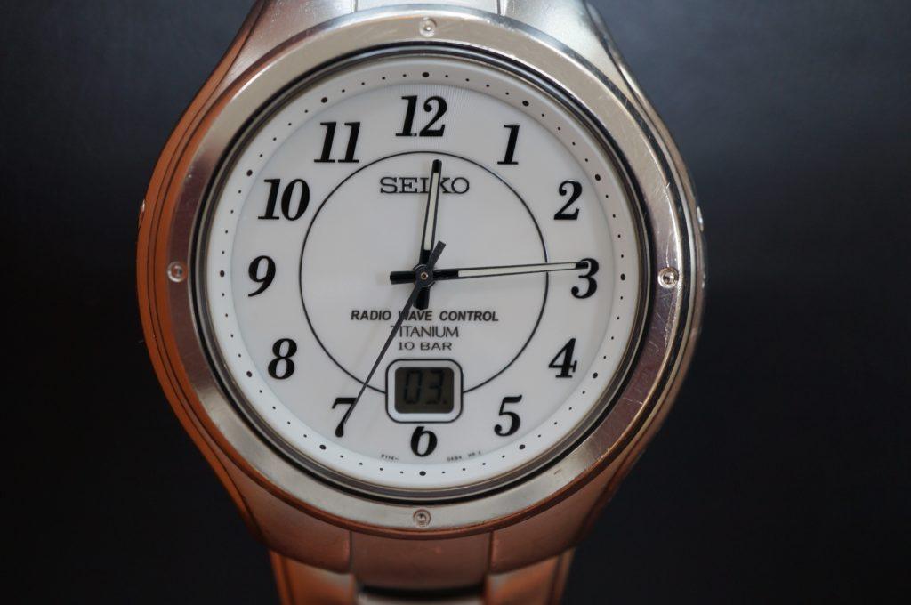 No.1706  SEIKO  (セイコー ) ソーラー電波式 腕時計を修理しました
