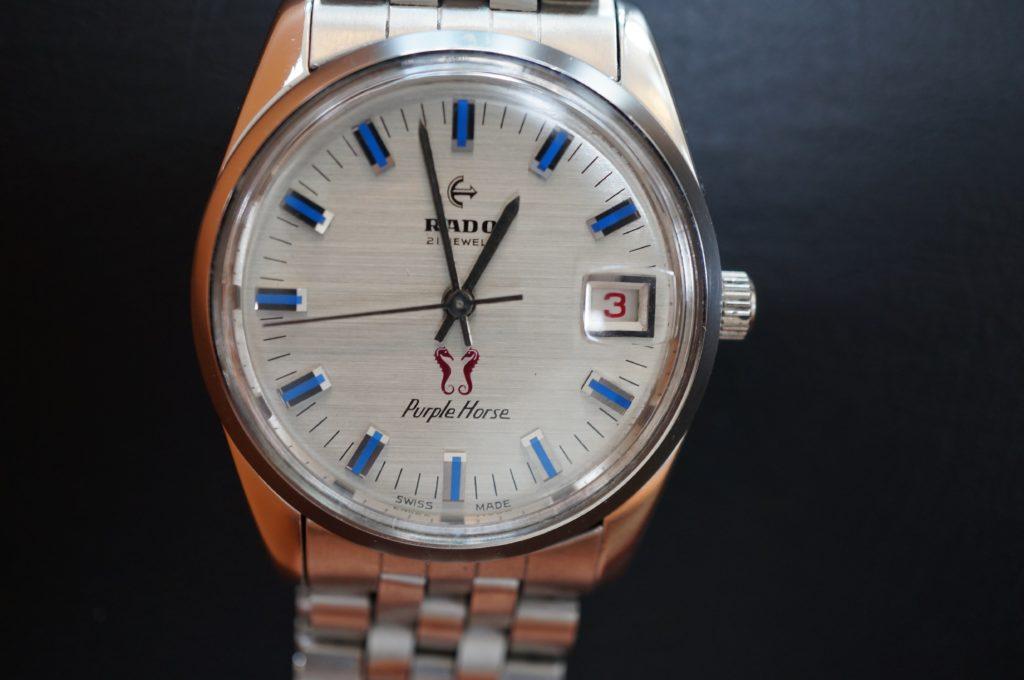 No.1724  RADO  (ラドー ) 自動巻き腕時計を修理しました