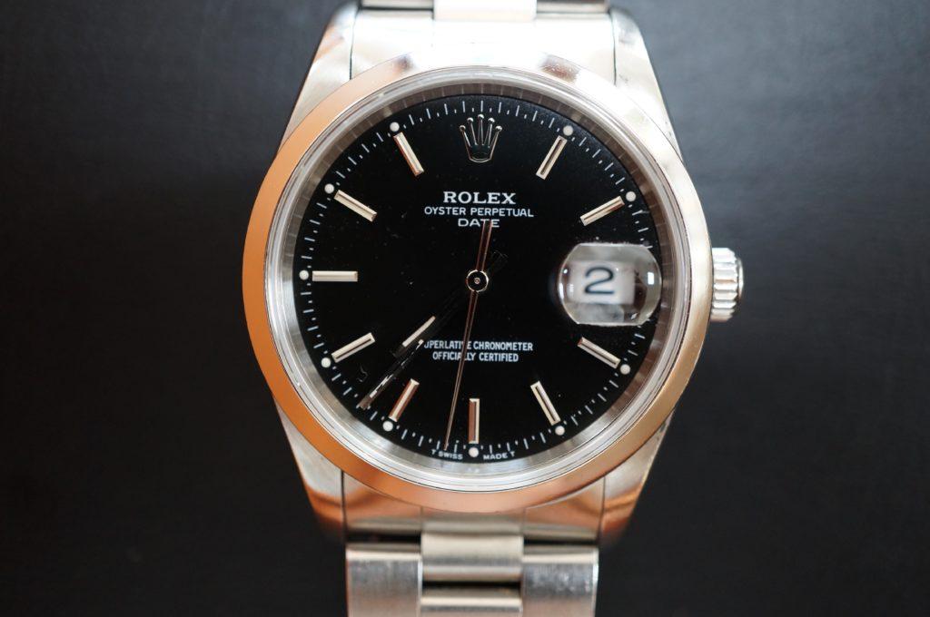 No.1709  ROLEX  (ロレックス ) 自動巻き腕時計を修理しました