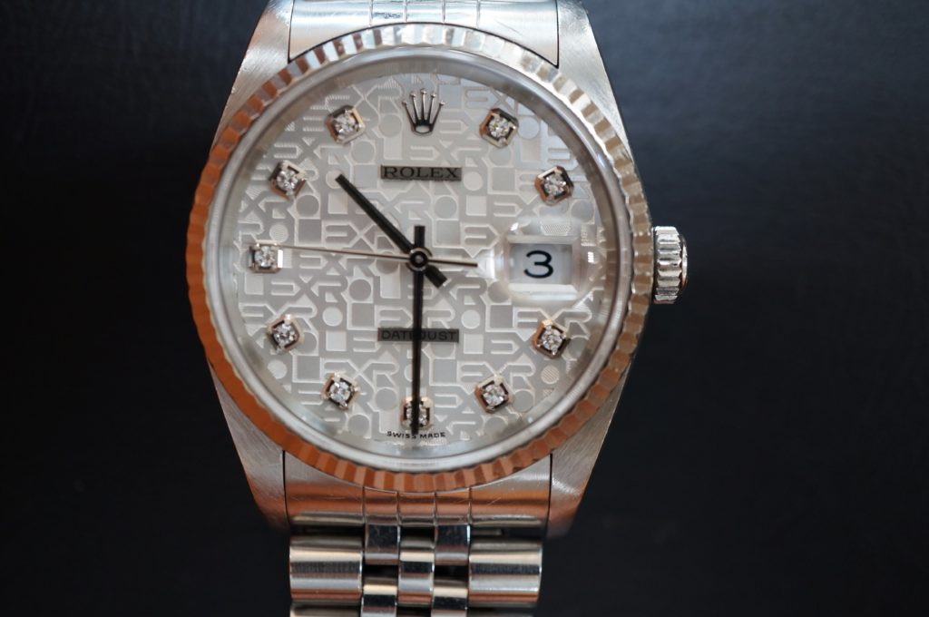 No.1710  ROLEX  (ロレックス ) 自動巻き腕時計を修理しました