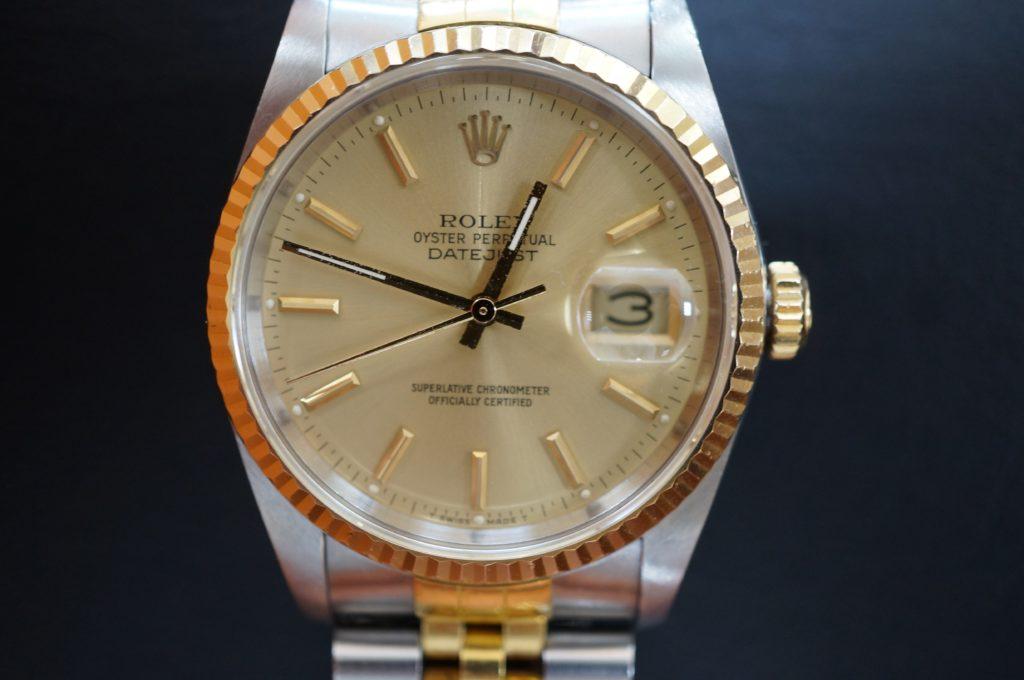No.1720  ROLEX  (ロレックス ) 自動巻き腕時計を修理しました