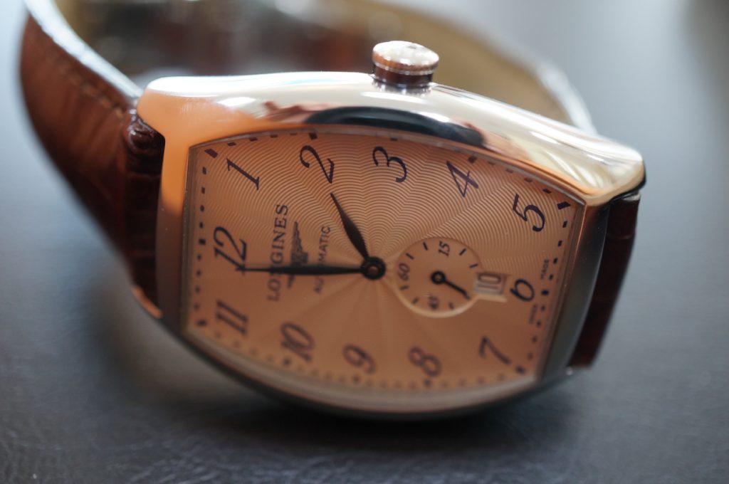 No.1705  LONGINES  (ロンジン ) 自動巻き 腕時計を修理しました