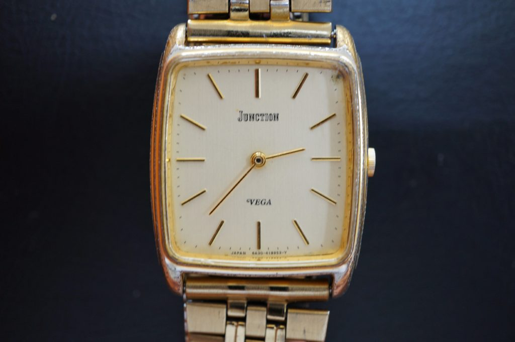 No.1761  CITIZEN  (シチズン ) クォーツ式  腕時計を修理しました