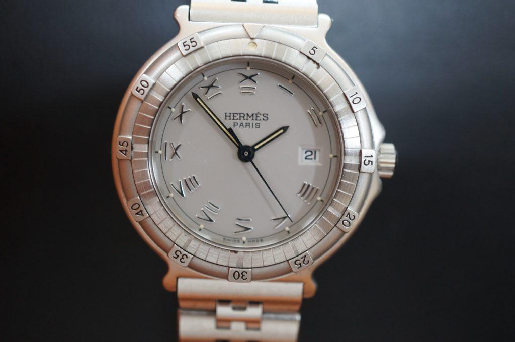 No.1762  HERMES  (エルメス ) クォーツ式  腕時計を修理しました