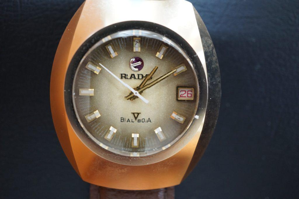 No.1728  RADO  (ラドー ) 自動巻き腕時計を修理しました