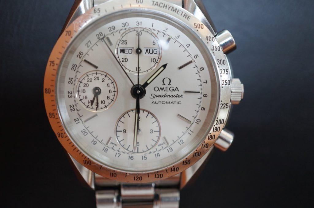 No.1742  OMEGA Speedmaster (オメガスピードマスター) 自動巻き 腕時計を修理しました