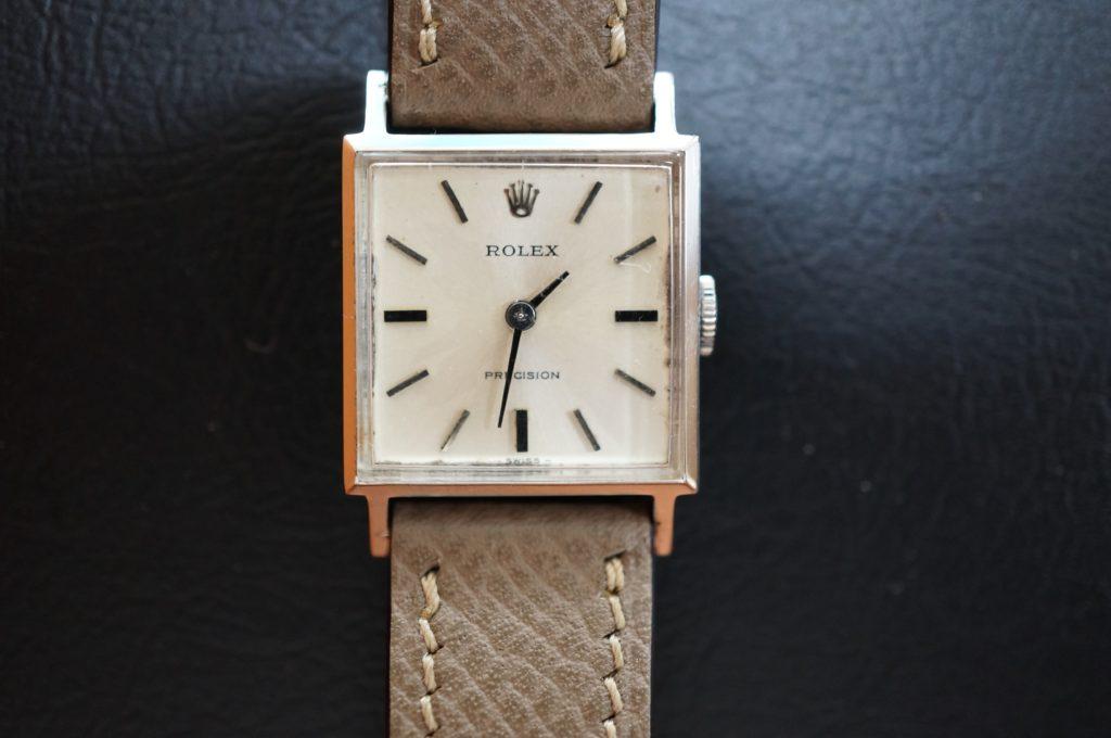 No.1730  ROLEX  (ロレックス ) 手巻き式 腕時計を修理しました
