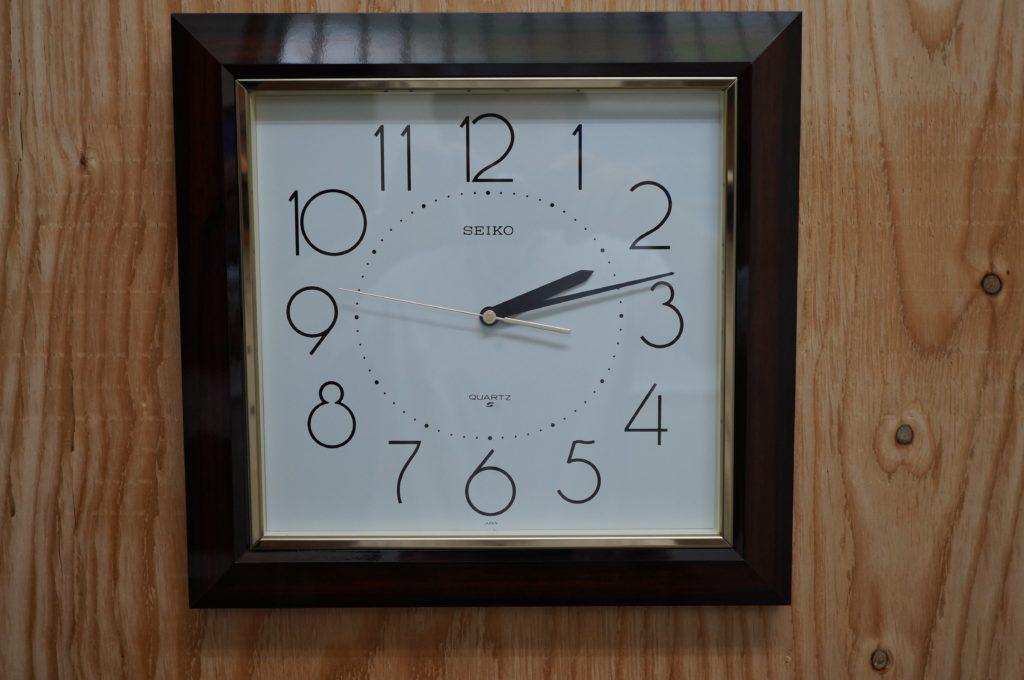 No.1741  SEIKO  (セイコー ) クォーツ式  掛け時計を修理しました