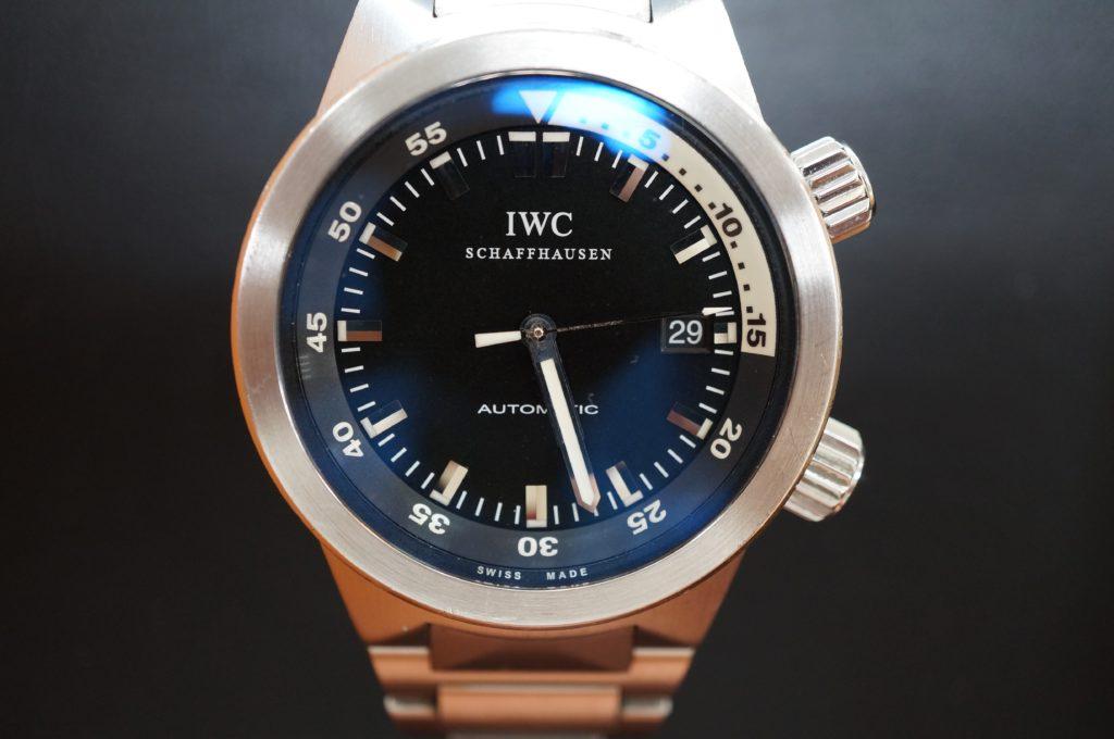 No.1745  IWC  (インターナショナル・ウォッチ・カンパニー) 自動巻き時計を修理しました