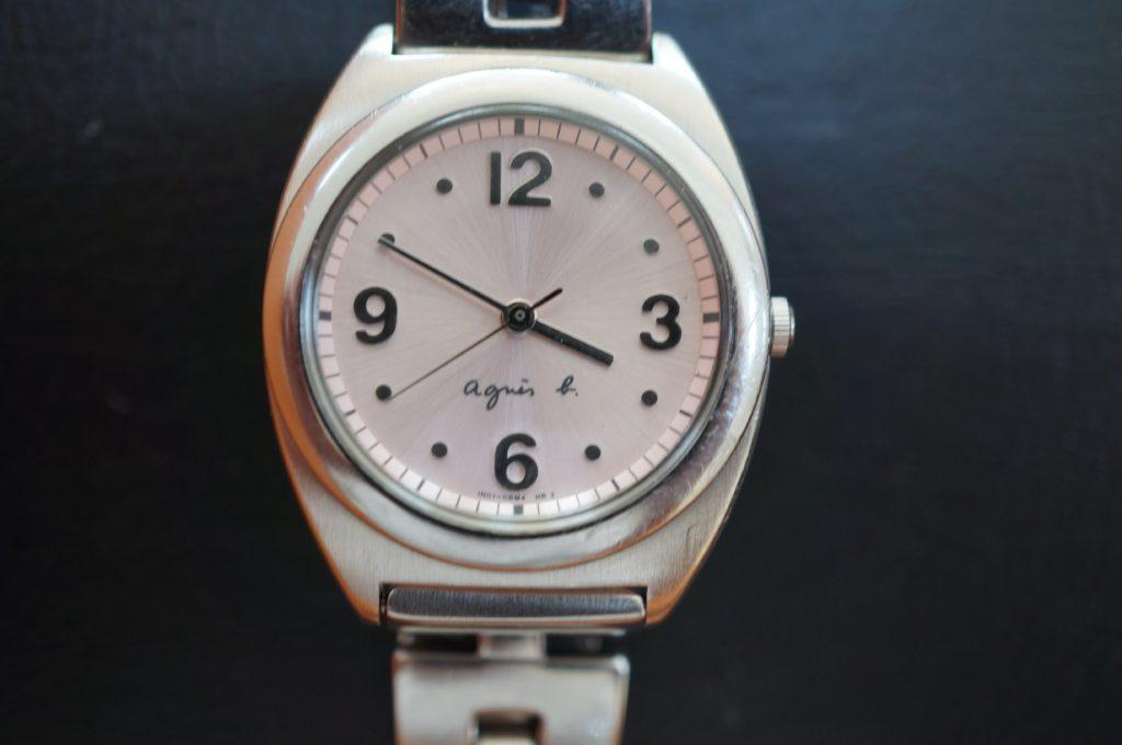No.1748  agnes b (アニエスベー) クォーツ式 腕時計を修理しました