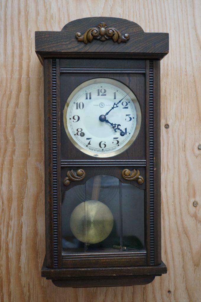 No.1746  SEIKO (セイコー)  ゼンマイ式 掛け時計を修理しました