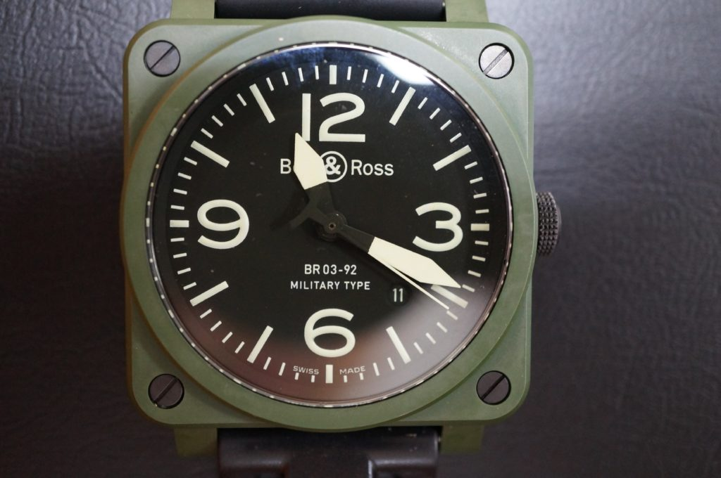 No.1785  Bell & Ross(ベル・ロス)自動巻き 腕時計を修理しました
