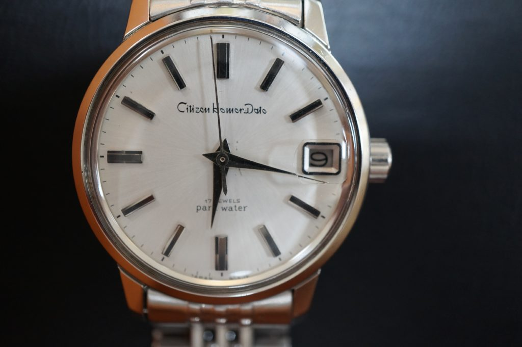 No.1782  CITIZEN  (シチズン ) 手巻き式  腕時計を修理しました