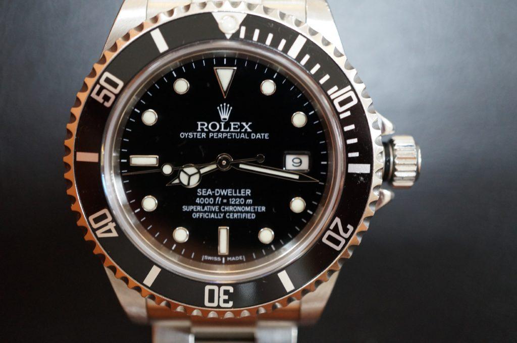 No.1780  ROLEX  (ロレックス ) 自動巻き腕時計を修理しました