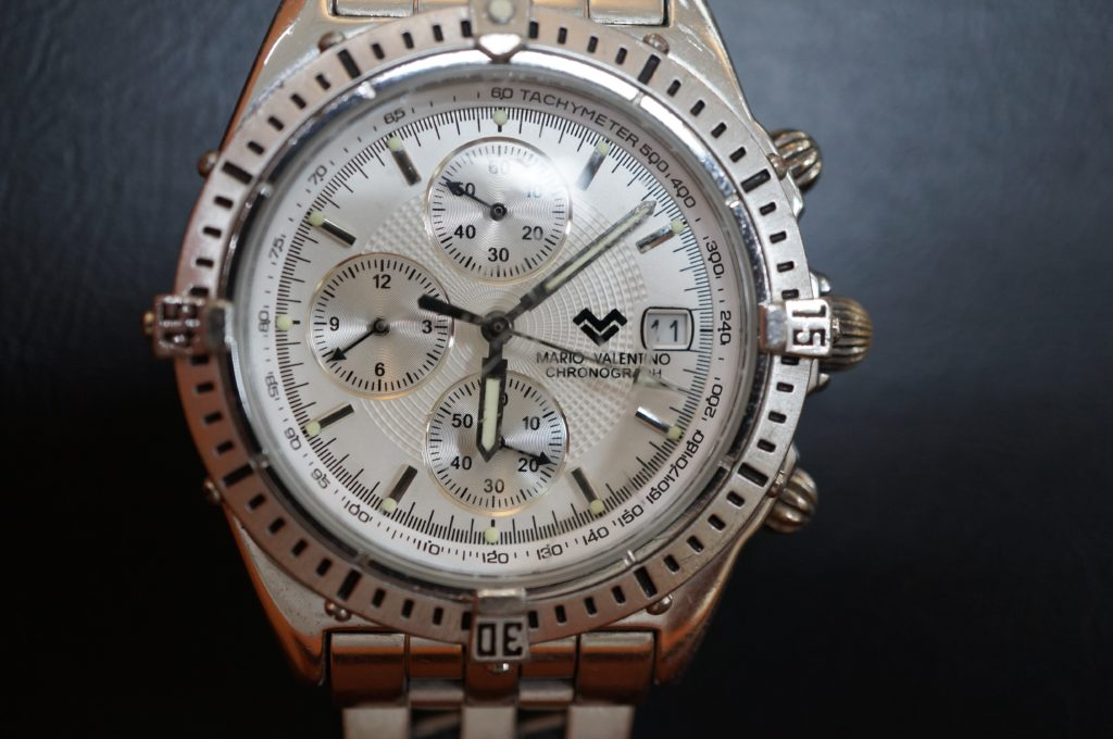 No.1784  MARIO VALENRTINO (マリオバレンチノ ) クォーツ式腕時計を修理しました