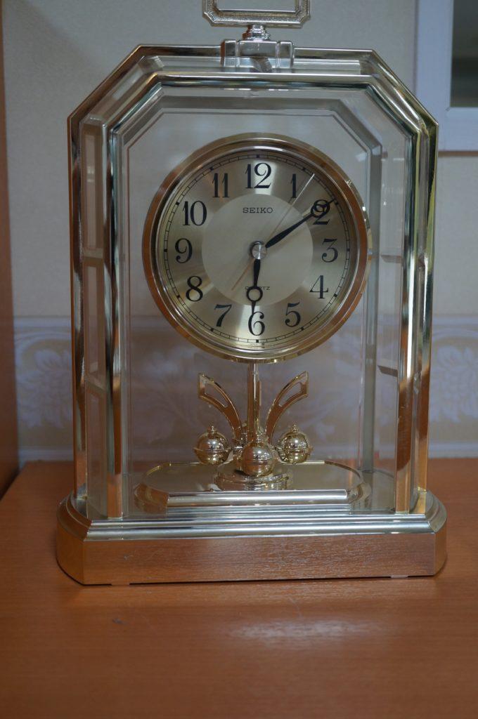 No.1766  SEIKO  (セイコー ) クォーツ式 置き時計を修理しました
