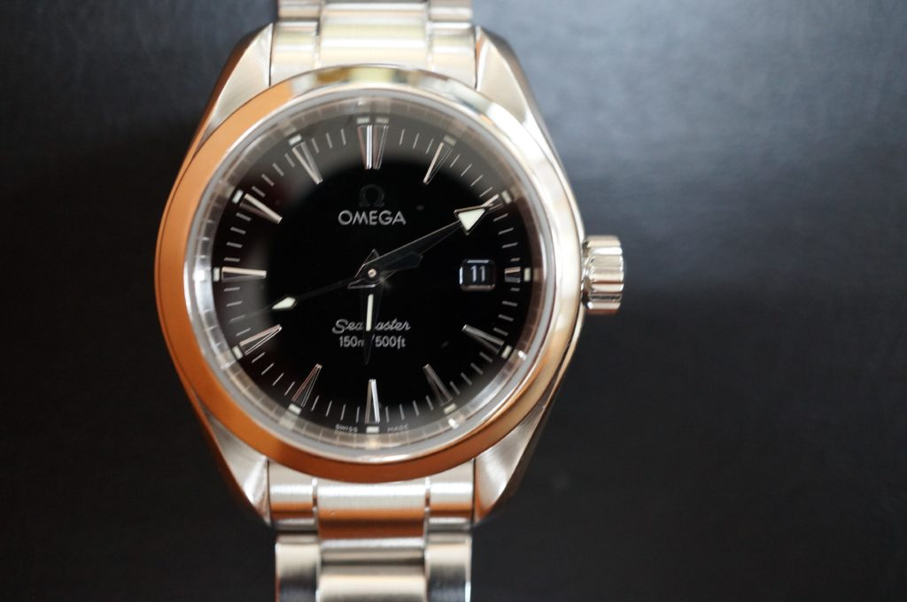 No.1787  OMEGA Seamaster (オメガ シーマスター) 自動巻き腕時計を修理しました