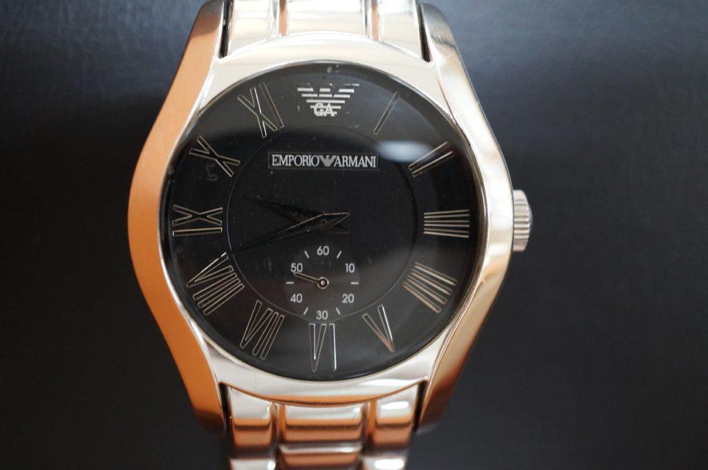 No.1768  ARMANI (アルマーニ ) クォーツ式腕時計を修理しました
