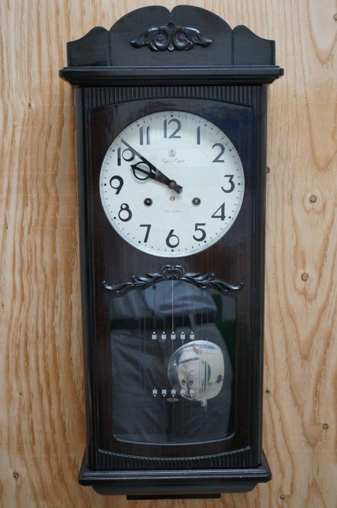 No.1770  SEIKO (セイコー)  ゼンマイ式 掛け時計を修理しました