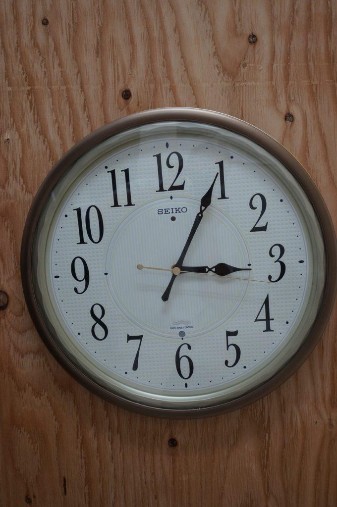 No.1788  SEIKO  (セイコー ) クォーツ式 掛け時計を修理しました
