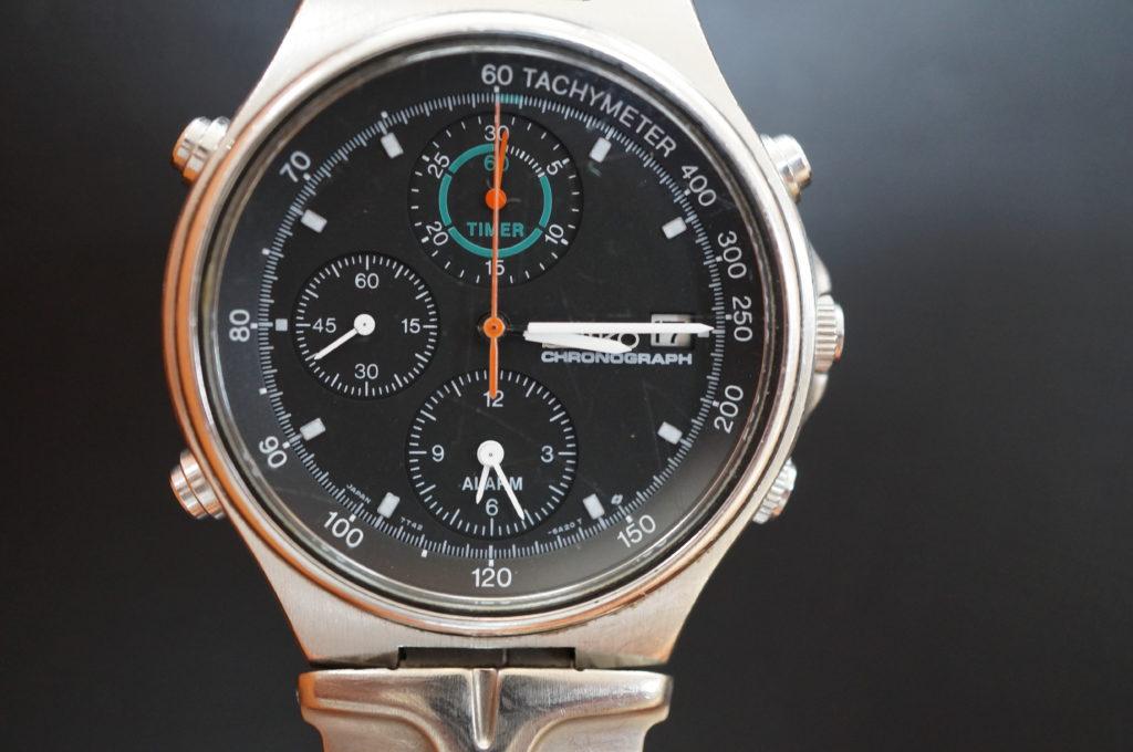 No.1810  SEIKO  (セイコー ) クォーツ式 腕時計を修理しました