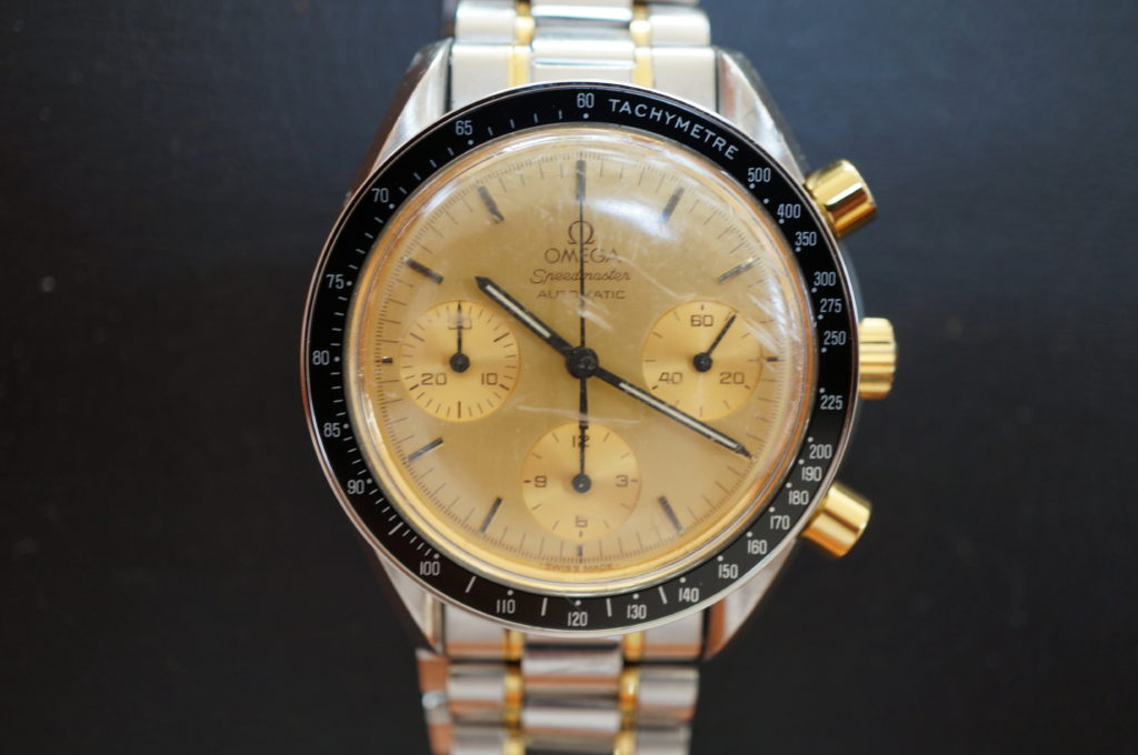 No.1801  OMEGA Speedmaster (オメガスピードマスター) 手巻き式 腕時計を修理しました