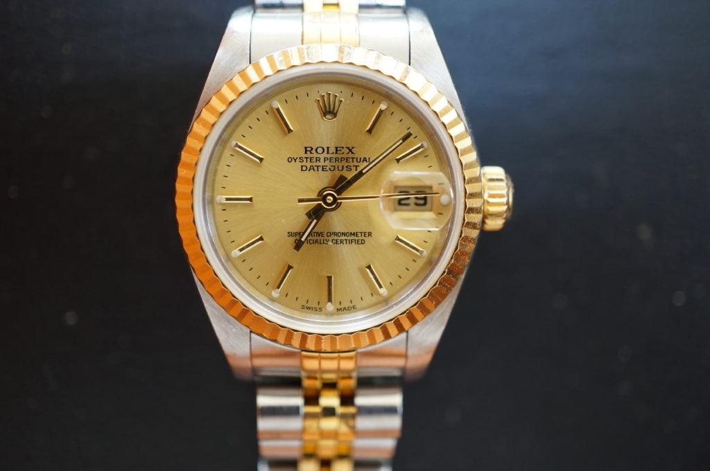 No.1802  ROLEX  (ロレックス ) 自動巻き腕時計を修理しました