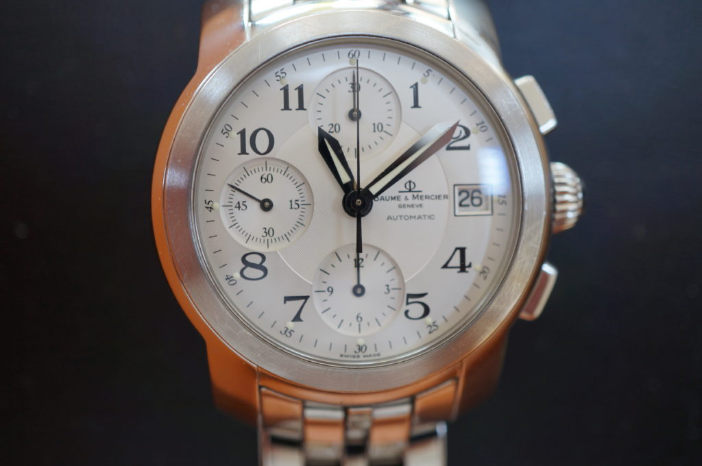 No.1803  BAUME & MERCIER  (ボーム&メルシエ ) 自動巻き腕時計を修理しました