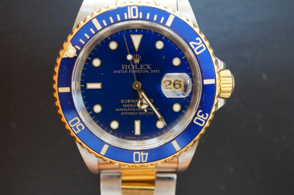 No.1807  ROLEX  (ロレックス ) 自動巻き腕時計を修理しました