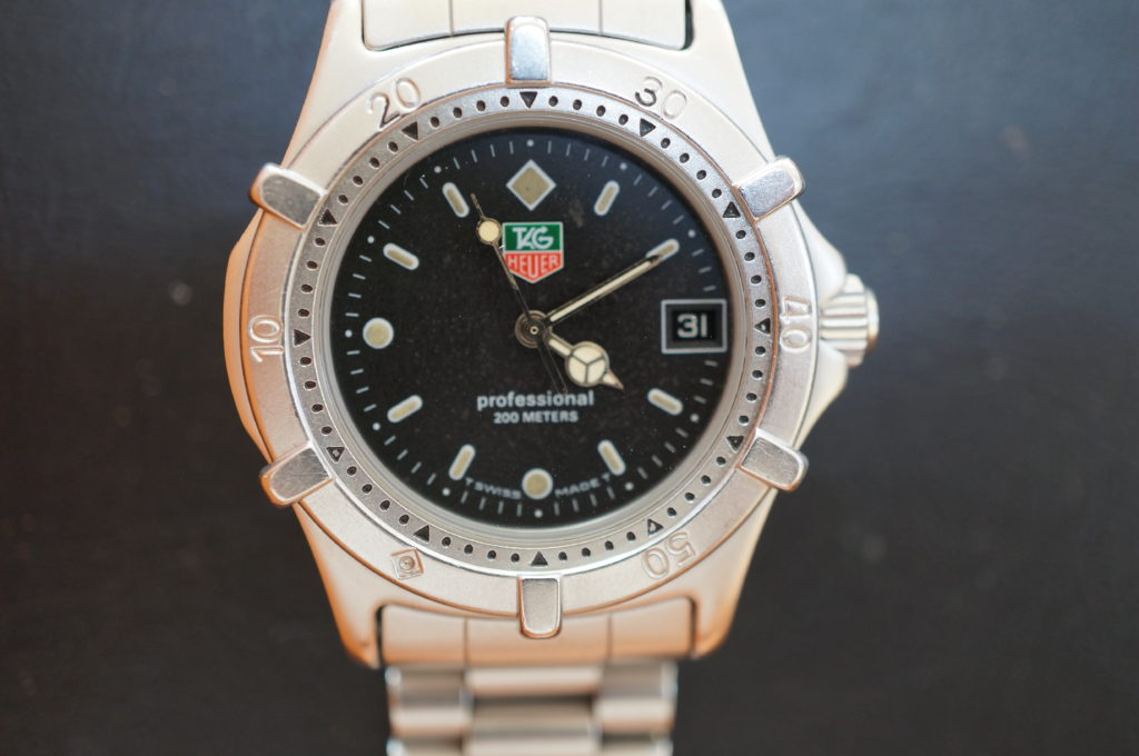 No.1809  TAG HEUER(タグホイヤー)クォーツ式 腕時計を修理しました