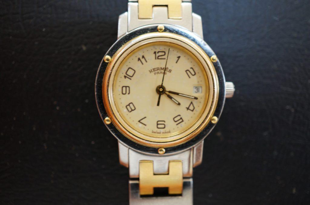 No.1804  HERMES (エルメス ) クォーツ式腕時計を修理しました