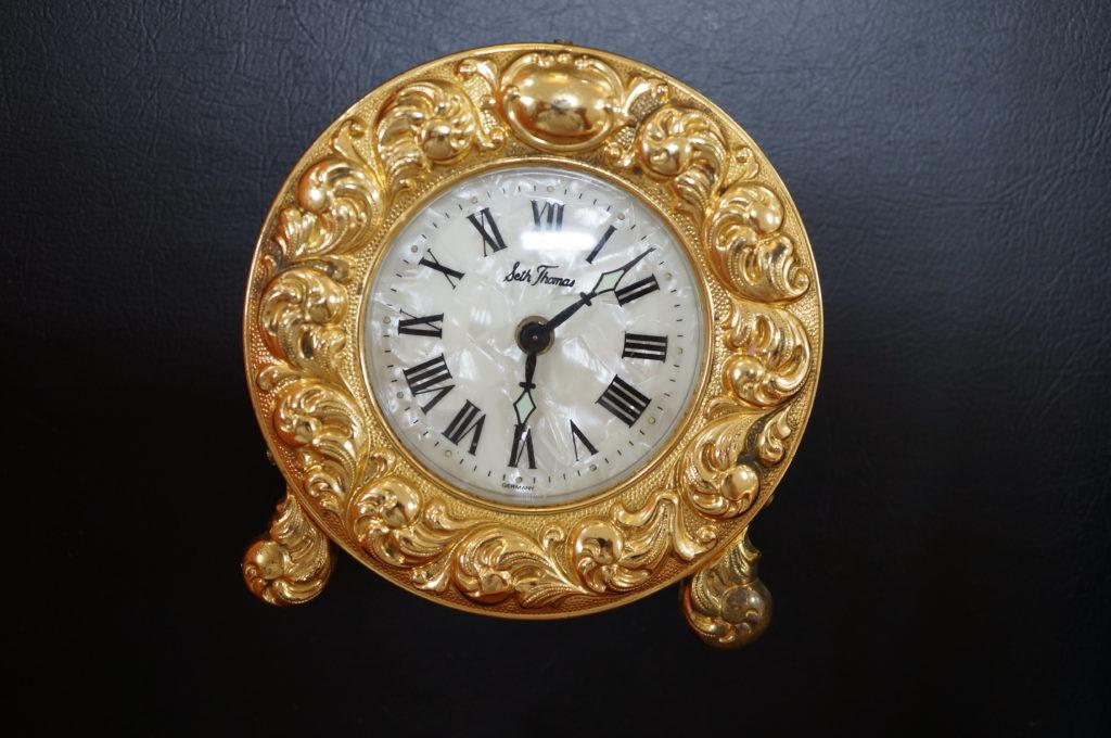 No.1806  Seth Thomas  (セストーマス ) 手巻き式 置き時計を修理しました