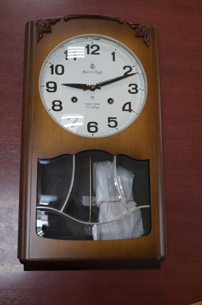 No.1841  SEIKO (セイコー)  ゼンマイ式 掛け時計を修理しました