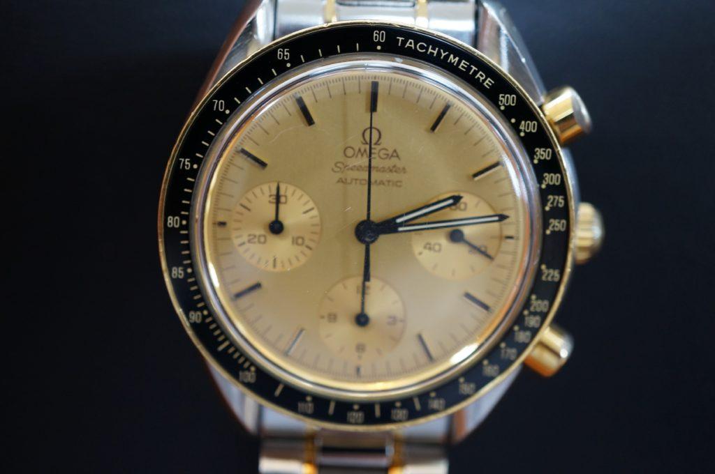 No.1829  OMEGA Speedmaster (オメガスピードマスター) 手巻き式 腕時計を修理しました