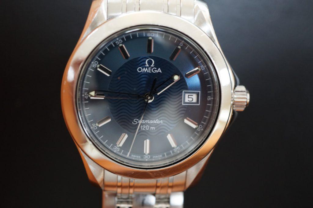 No.1828  OMEGA Seamaster (オメガ シーマスター) 自動巻き腕時計を修理しました