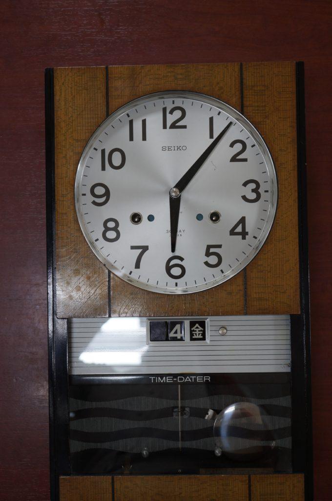 No.1840  SEIKO (セイコー)  ゼンマイ式 掛け時計を修理しました