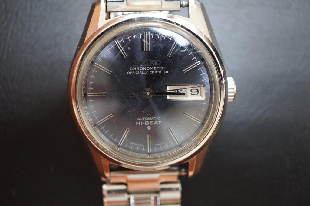No.1821  SEIKO  (セイコー ) 自動巻き 腕時計を修理しました
