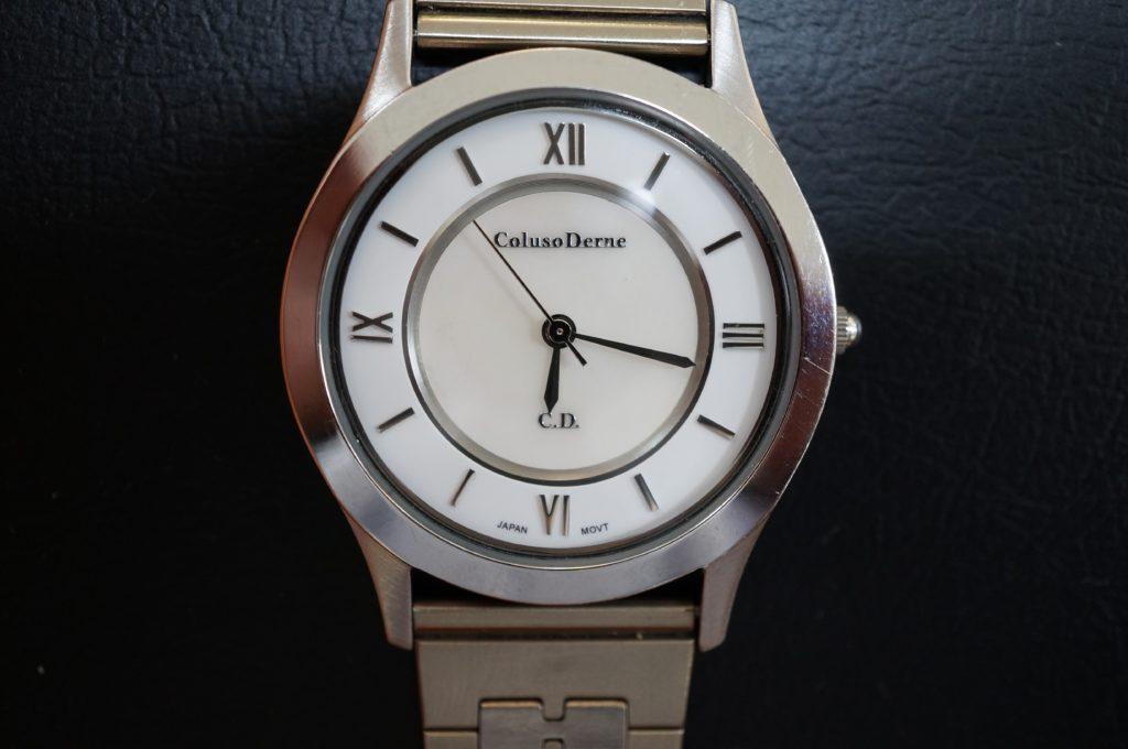 No.1846  Coluso Denese(コルソデネーゼ)クォーツ式 腕時計を修理しました